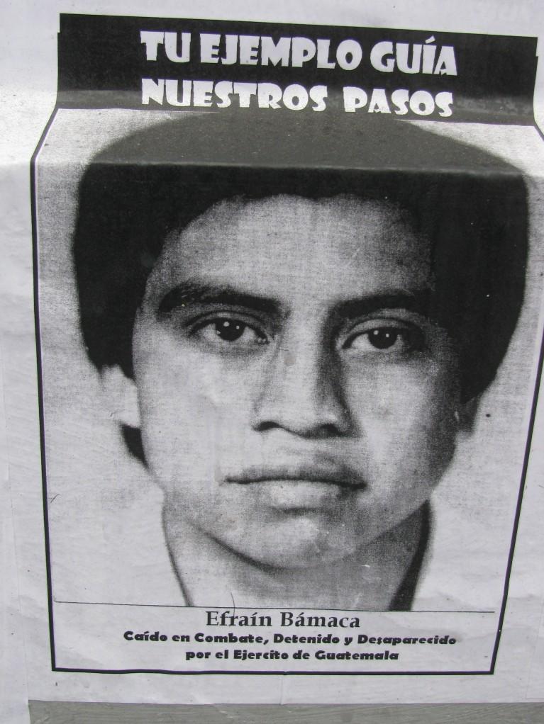 poster Efrain Bamaco
