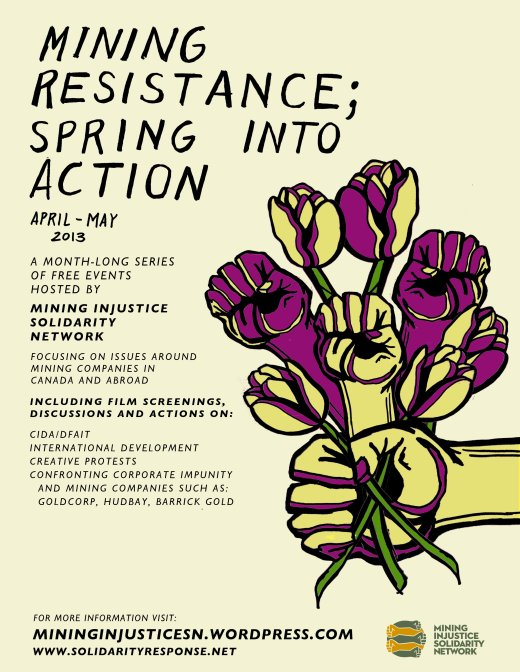 Mining Resistance: Spring Into Action!